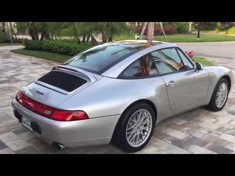 1998 Porsche 911 Carrera Targa (993) Review and Test Drive by Bill - Auto Europa Naples