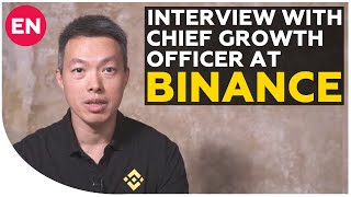 Ted Lin - about Binance DEX, BNB coin and future of crypto exchange | Interview with CGO at Binance