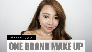 MAYBELLINE ONE BRAND MAKE UP TUTORIAL ♡