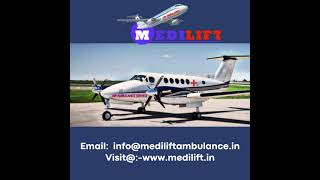 Hire the Superior ICU Air Ambulance Service in Jabalpur by Medilift