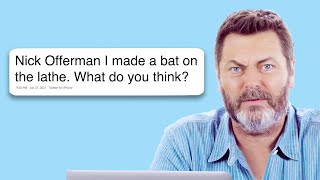 Nick Offerman Goes Undercover on Twitter, YouTube, and Reddit | Actually Me | GQ