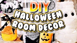 6 DIY HALLOWEEN ROOM DECOR IDEAS! | Easy And Cheap Decor! Halloween 2018