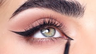 HOW TO: GEL CAT EYELINER | Hindash