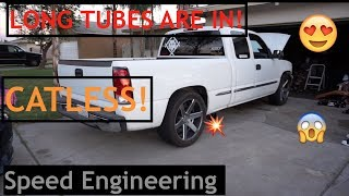Long Tube Headers - 2000 Sierra 5.3 - Speed Engineering