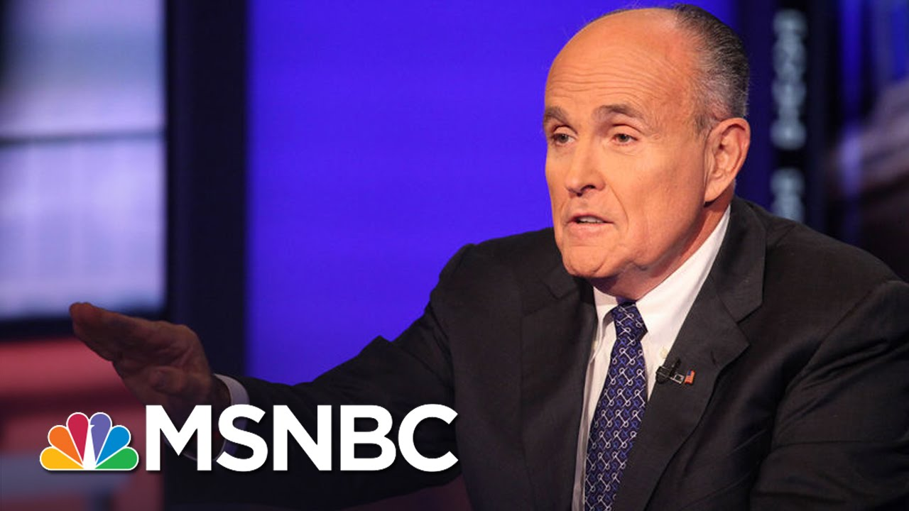 Rudy Giuliani: Donald Trump Is 'Clearly The Best Choice' | Hardball | MSNBC thumbnail