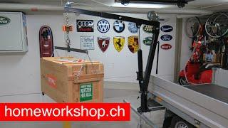 Anhängerkran / Crane for trailer