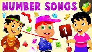 Number Songs | Nursery Rhymes for Kids | Songs for Children