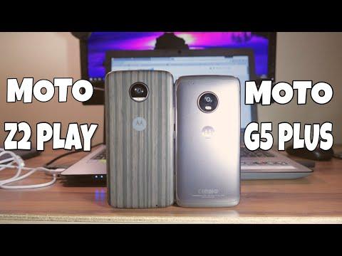 Moto G5 Plus vs Moto Z2 Play: Quem tem a melhor câmera?