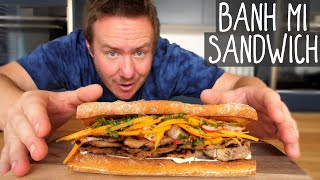 Banh Mi Sandwich Recipe | Taste the World #9