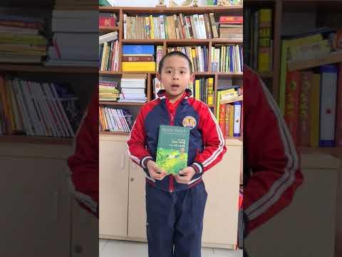 """MS 01 Vũ Vương Duy 4A2 Tiểu học Kim Đồng, Ba Đình. Giới thiệu sách """"Tôi thấy hoa vàng trên cỏ xanh"""""""