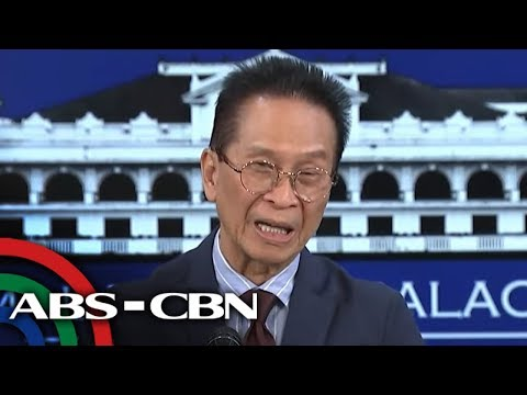 [ABS-CBN]  Palace holds press briefing