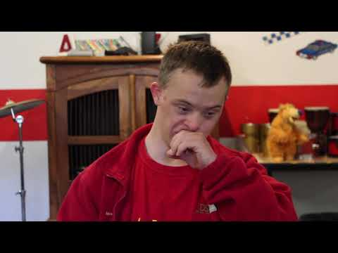 Watch video Stewart loves to dance - World Down Syndrome Day 2019