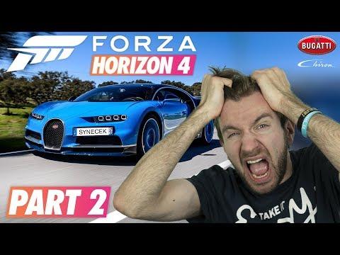BUGATTI CHIRON!   Forza Horizon 4 Demo #02
