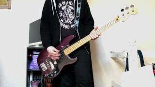 The Clash - White Riot Bass Cover