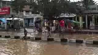 preview picture of video 'Flooding in Guwahati, Assam, India'