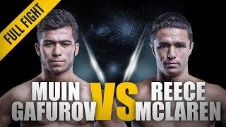 ONE: Full Fight   Reece McLaren vs. Muin Gafurov   Top-Shelf Grappling   April 2016
