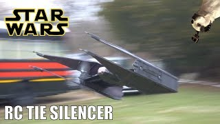 FLYING!! RC Star Wars Tie Silencer