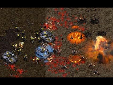 asdasd9 (Z) v iloveoov (T) on Heartbreak Ridge - StarCraft  - Brood War REMASTERED