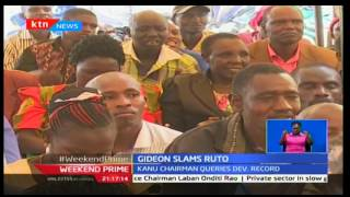 Gideon Moi slams Ruto citing that jubilee lacks commitment towards development projects