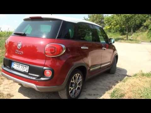 Fiat 500 L Trekking test review exterior and usability - Autogefühl Autoblog