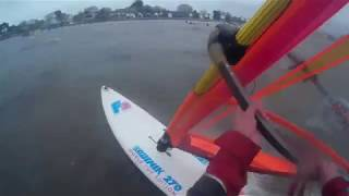 20190316 Windsurfing Too Windy to Sail