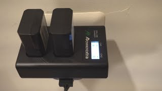 PowerExtra NP-FW50 Batteries w/Dual Charger for Sony Cameras Review