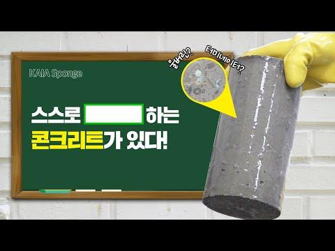 [KAIA 스펀지] 친환경 자기치유 콘크리트 썸네일