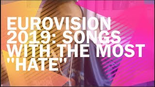 "Eurovision 2019: Songs With The Most ""HATE"" [Alesia Michelle]"