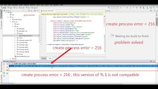 createprocess error216 this version of 1 is not compatible