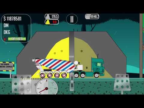 GAME TRUCKER JOE WE TRANSPORT CONCRETE TO A CONSTRUCTION SITE