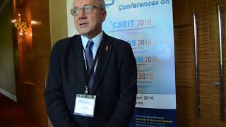 Dr. Milos Mistrik at JMComm Conference 2016 by GSTF Singapore