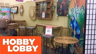HOBBY LOBBY SHOP WITH ME STORE WALK THROUGH HOME DECOR ACCENT FURNITURE CHAIRS SHOPPING