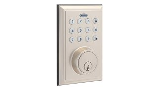 Honeywell Bluetooth Enabled Digital Deadbolt Door Lock With Keypad, Satin Nickel, 8812309S