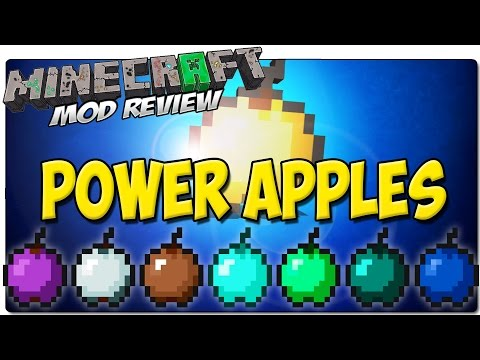 POWER APPLES MOD PARA MINECRAFT 1.8   Manzanas de diamante, esmeralda, chocolate...   MINECRAFT MODS