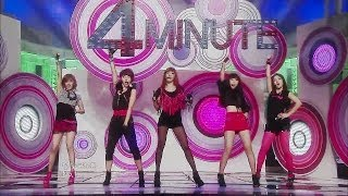 【TVPP】4MINUTE - For MUZIK + MUZIK, 포미닛 - 인트로 + 뮤직 @ Comeback Stage, Music Core Live