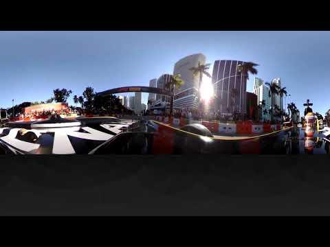 F1 Miami Festival: Renault Live Car Run! (360 video)