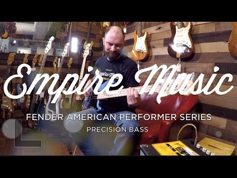 Fender American Performer Precision Bass Review