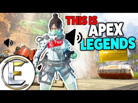 This Is Apex legends - Funny Voice Chat! First Gameplay Video (It's Really Fun)