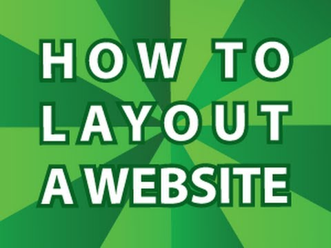How to Layout a Website