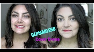First Impressions | Dermablend Cover Creme!