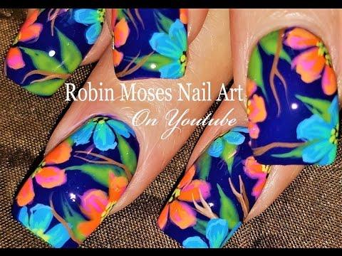 Paint me Robin Moses Nails | DIY Beglamorousnails Nail Art Design Tutorial