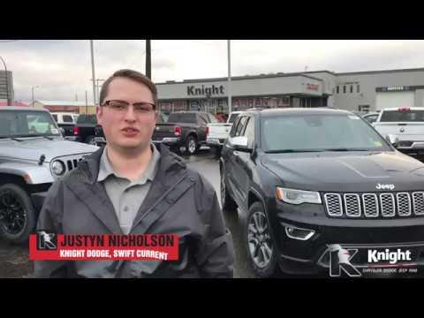 New 2018 Jeep Grand Cherokee Overland V6   Sunroof   Navigation