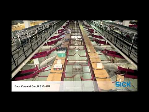 Efficient auto ID solutions from SICK at Baur Versand   SICK AG