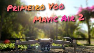 Primeiro voo Mavic Air 2 Brasil