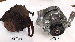 Old Alternator Restoration | Toyota Liteace Petrol engine Alternator Restoration