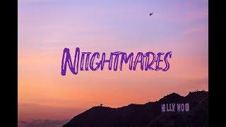 Yung Pinch Feat Lil Skies   Nightmares (Lyrics Video)