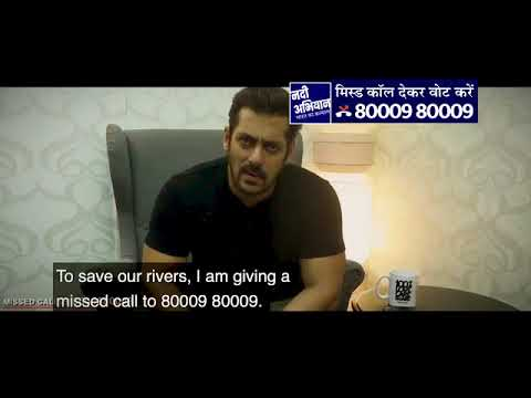Salman Khan, Actor for Rally for Rivers