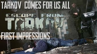 Escape From Tarkov Mini Review First Impression Customs gameplay discussion