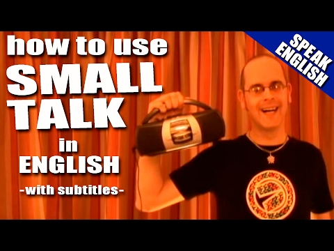 Learn English with Mr. Duncan - Lesson 18 (Small Talk)