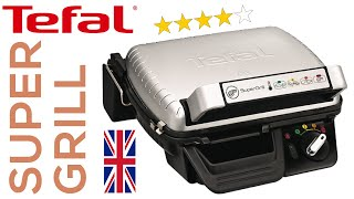 TEFAL SuperGrill 🇬🇧 — unpacking and demo — GC450B27